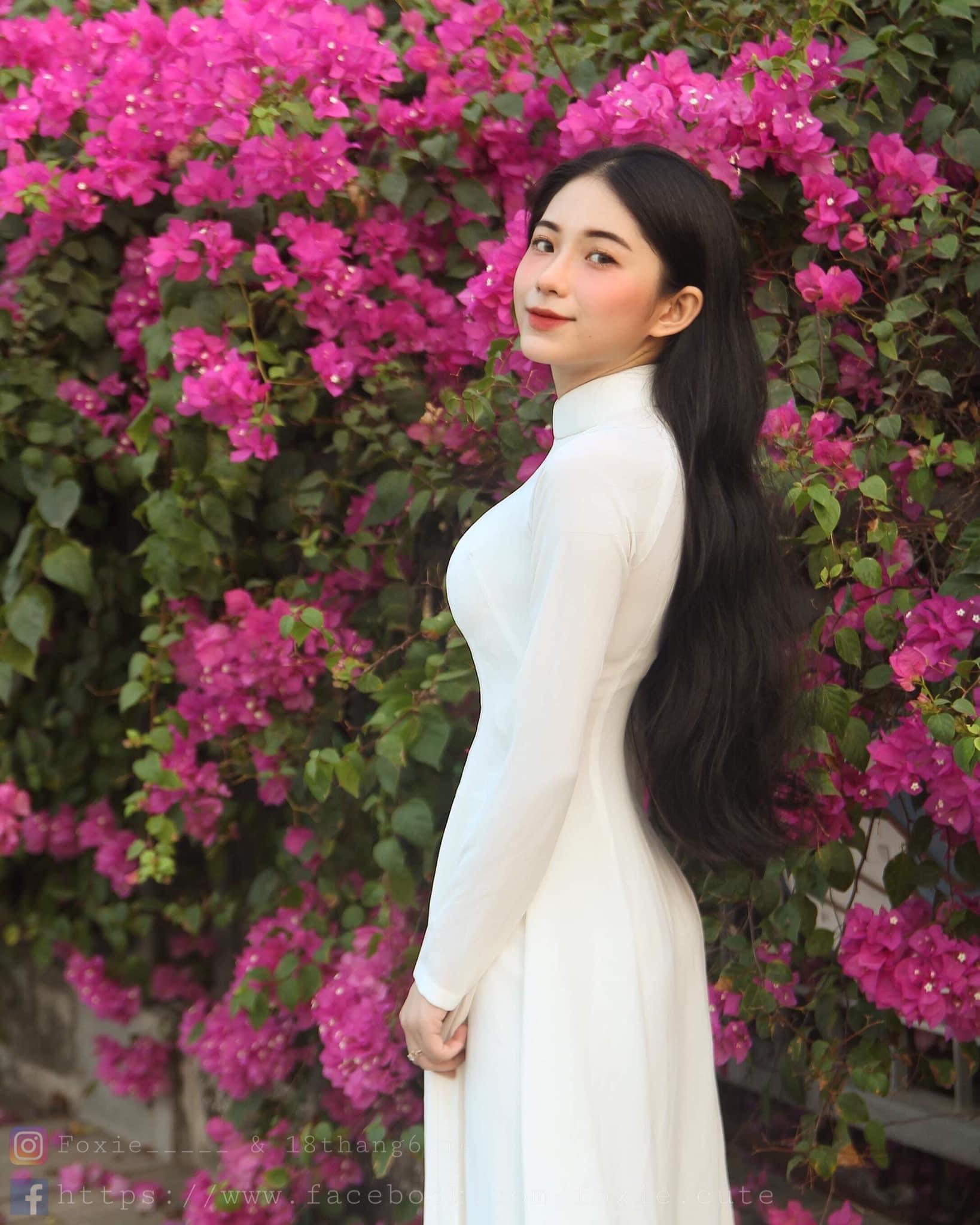 Hot girl Nguyễn Thị Kim Anh xinh xắn và cực dễ thương - 8
