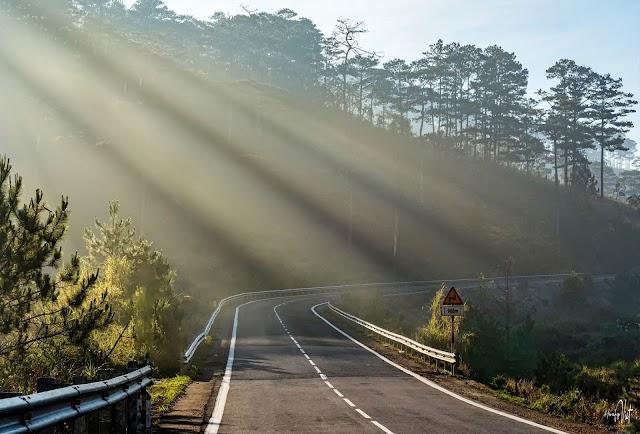Những tia nắng tôn vinh nét đẹp của Đà Lạt