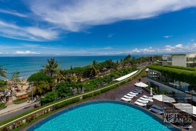 Carte Satellite Bali.Sheraton Bali Kuta Resort