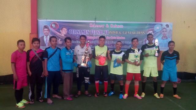 Gemar HIAS Sukses Gelar Turnamen Futsal Ke VI