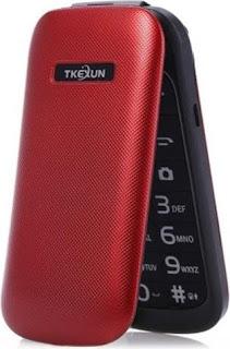 Tkexun E1190A Quad Phone Vermelho