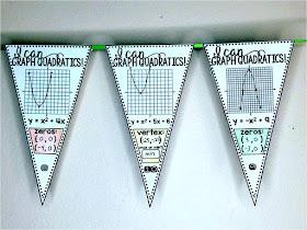 graphing quadratics math pennant