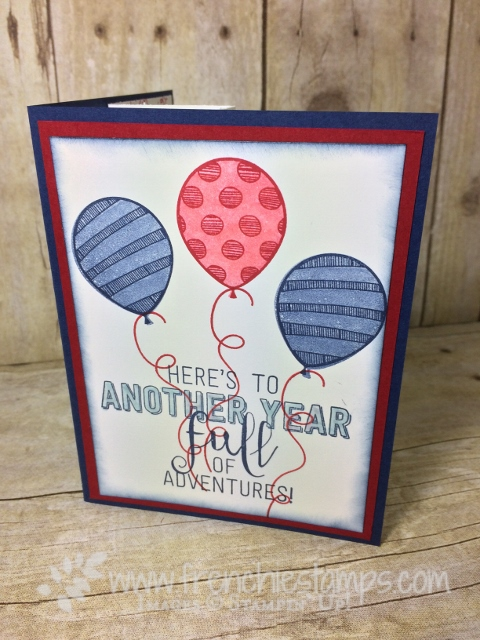 Balloon Adventures, Balloon Pop-Up Thinlits, Stampin'Up!