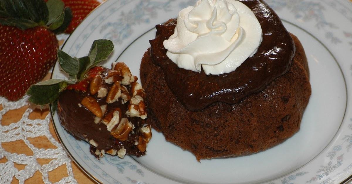 Chocolate Molten Cakes In A Cupcake Pan