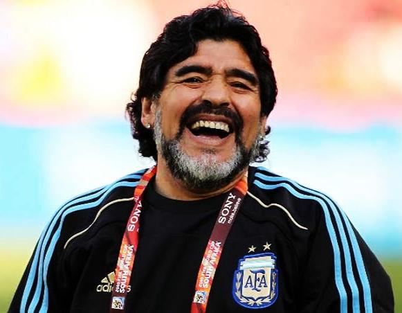 Morre o ex-jogador argentino, Diego Maradona