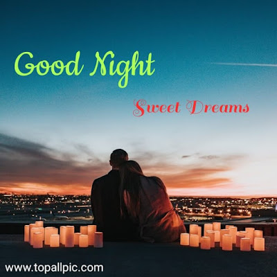 wishes romantic good night sweet dreams images for friends