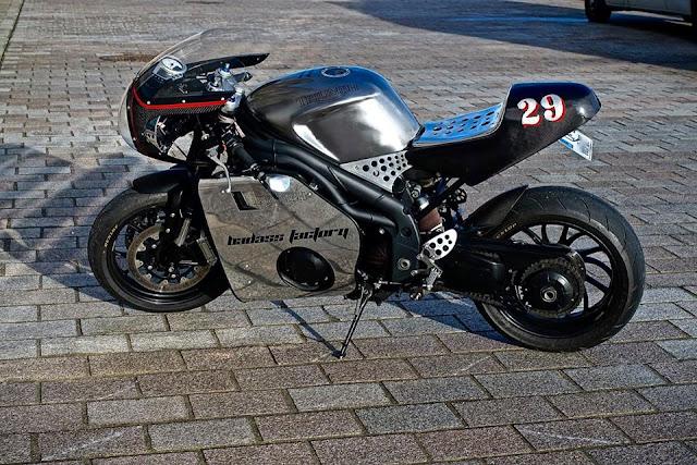 Triumph Speed Triple By Badass Factory Hell Kustom