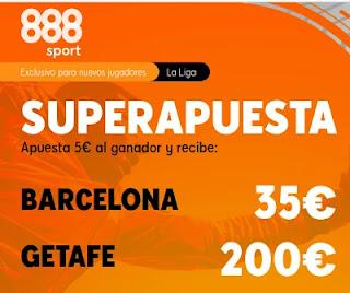 888sport superapuesta Barcelona vs Getafe 22-4-2021