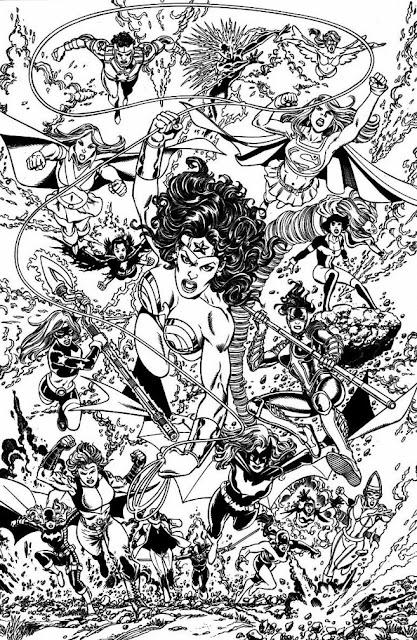 Wonder Woman & Friends by George Perez