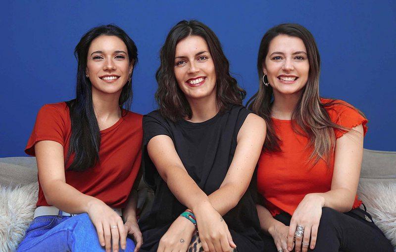 Magda Müller y sus amigas se chasconean en podcast