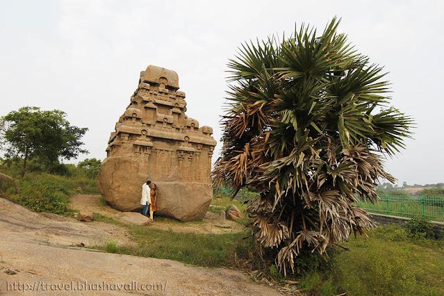 UNESCO Chennai Mamallapuram Valayankuttai Rathas
