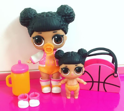 LOL Dolls Hoops set of 2: big and lil sisters