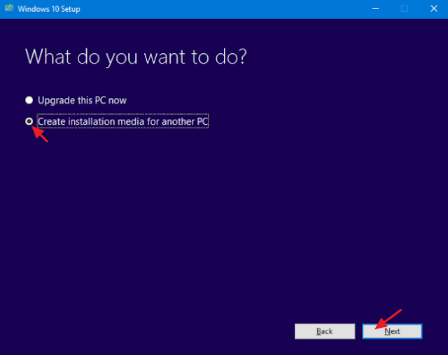 membuat instalasi windows file iso di media creation tool