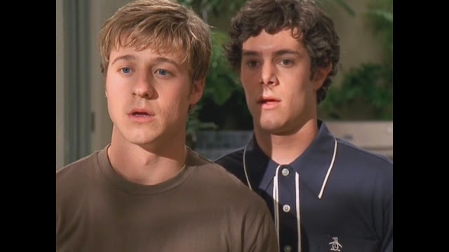 seth and ryan drooling over gabrielle the o.c.