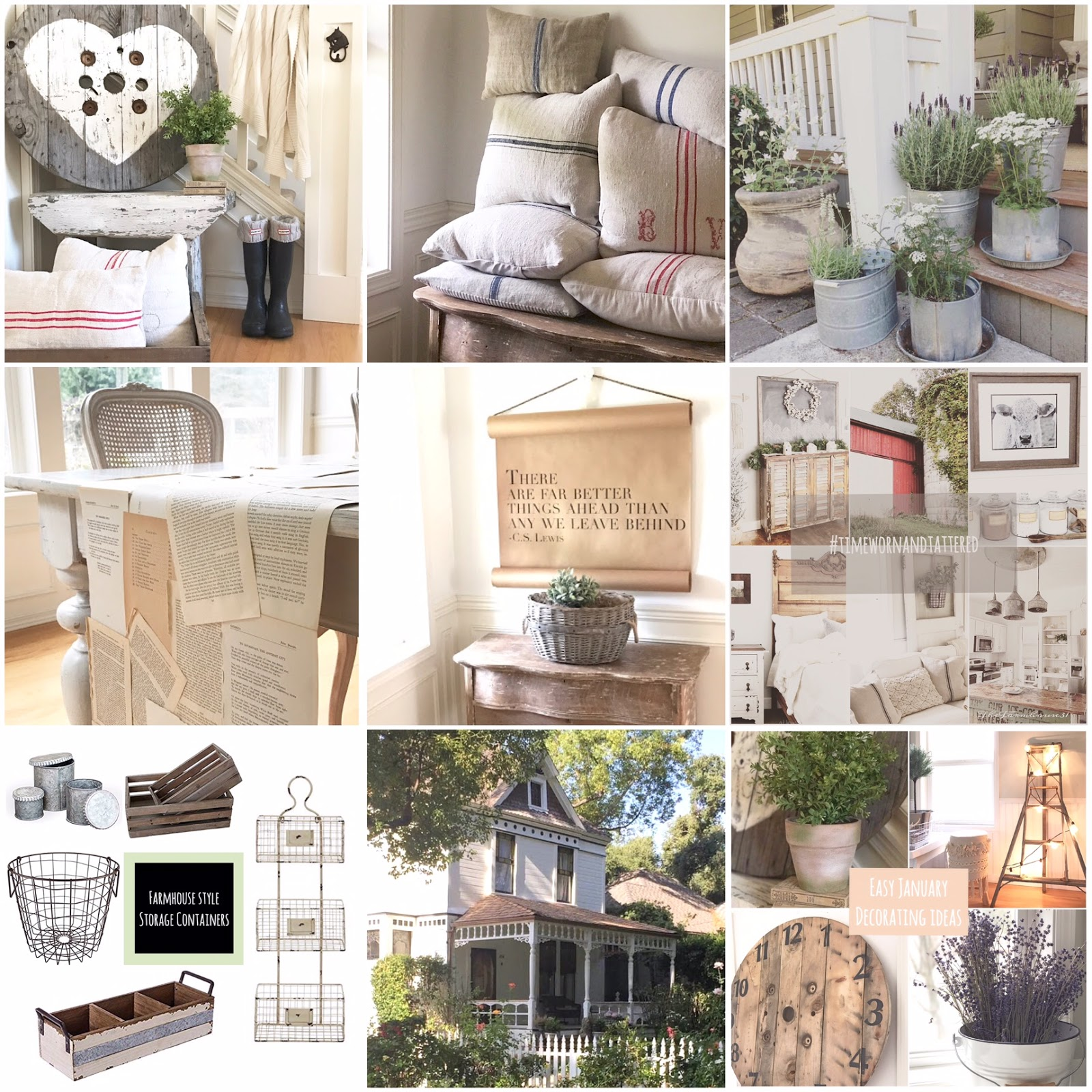 Little Farmstead Here are the Highlights Farmhouse Decorating DIYs and