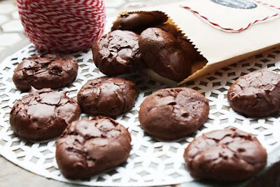 Kue Kering Cokelat Kopi