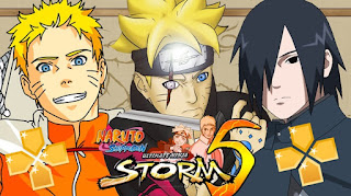Download Naruto Shipuden Ultimate Ninja Strom 5 PPSSPP Mod Terbaru