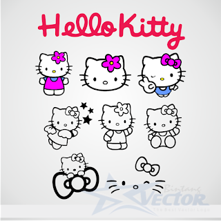 Hello Kitty Logo Vector cdr Download