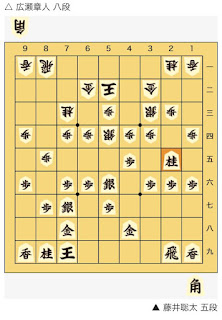 朝日杯将棋オープン戦決勝藤井聡太 五段 対 広瀬章人 八段