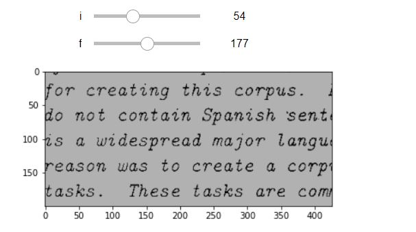 Opencv ,matplotlib interactive thresholding finding in jupyter python