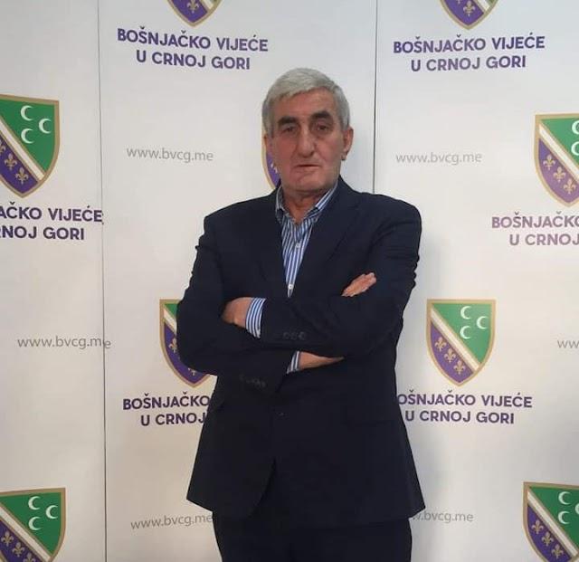 Ejup Nurković novi predsjednik Bošnjačkog vijeća u Crnoj Gori