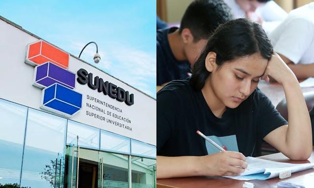 Lista universidades licenciadas Sunedu
