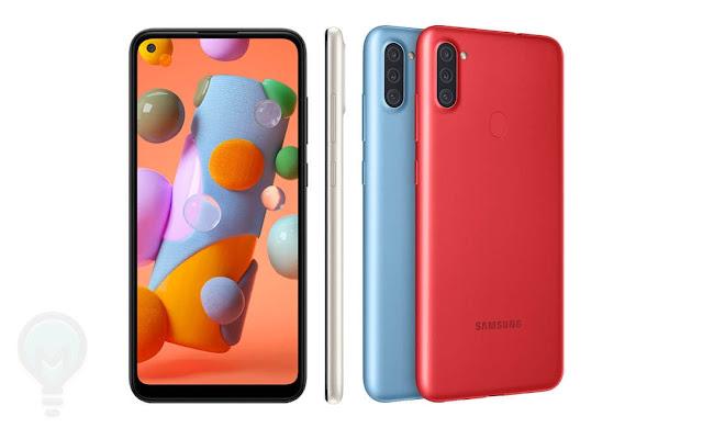 مواصفات وسعر Samsung Galaxy A11