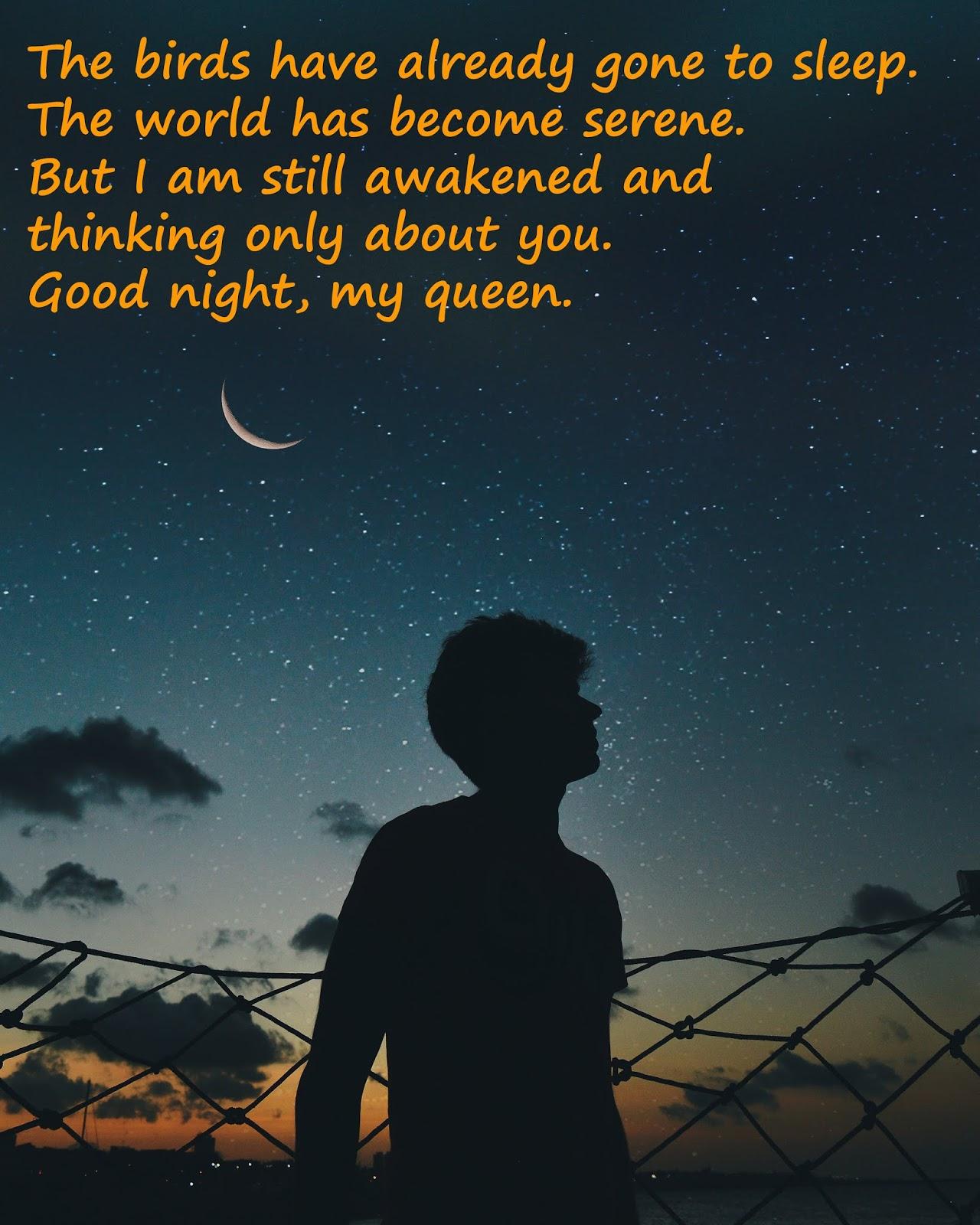 good night love you