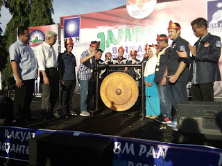 MY Hadiri Pembukaan Jambore BM PAN