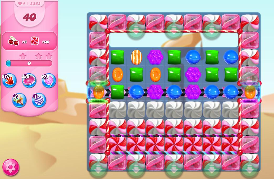 Candy Crush Saga level 8362
