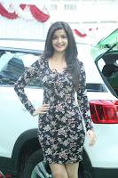 Kritika Telugu cinema Model in Short Flower Print Dress 072.JPG