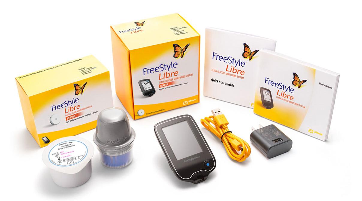 連續測血糖儀-雅培瞬感freestyle libre實測開箱