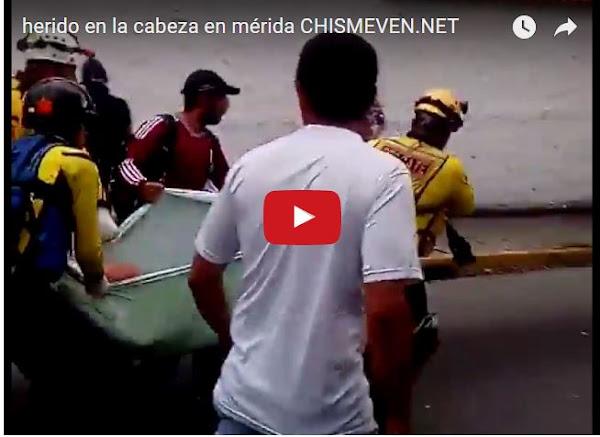 Colectivos disparan a la cabeza de un joven en Mérida