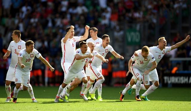 Hasil Euro babak 16 besar, Swiss 1-1 Polandia (Penalti 4--5)