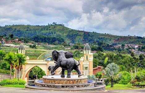 Tempat wisata kampung gajah di lembang bandung