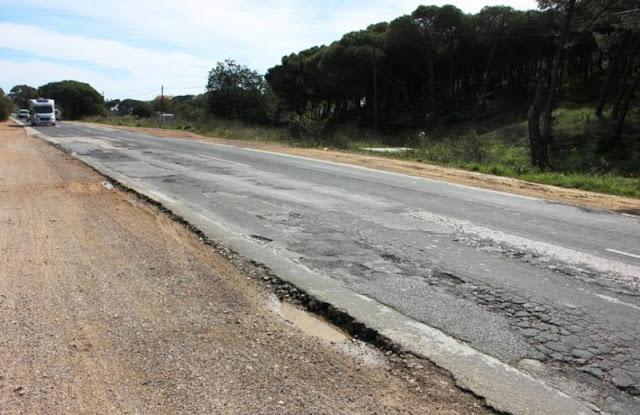 Obras de emergência na EN 125 deverão estar concluídas até final de julho