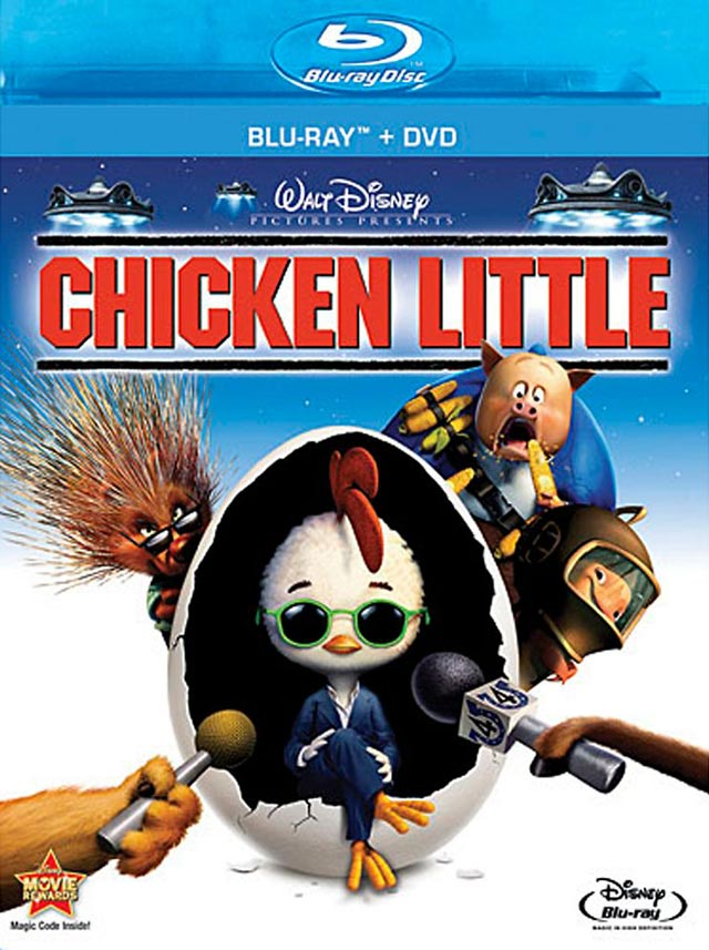 Animated Film Reviews Chicken Little 2005 He S The Greatest Dancer In This Disney Movie