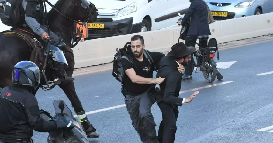 Charedi Extremist Continue To Protest Arrest Of IDF Draft ...