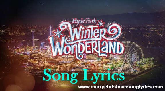 Winter Wonderland Song Lyrics