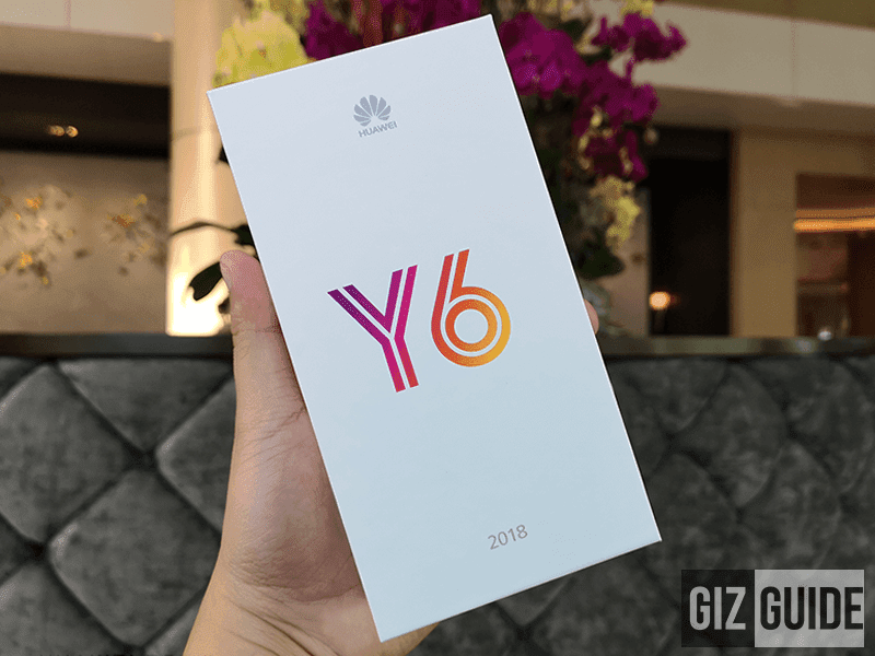 The box of Y6 2018