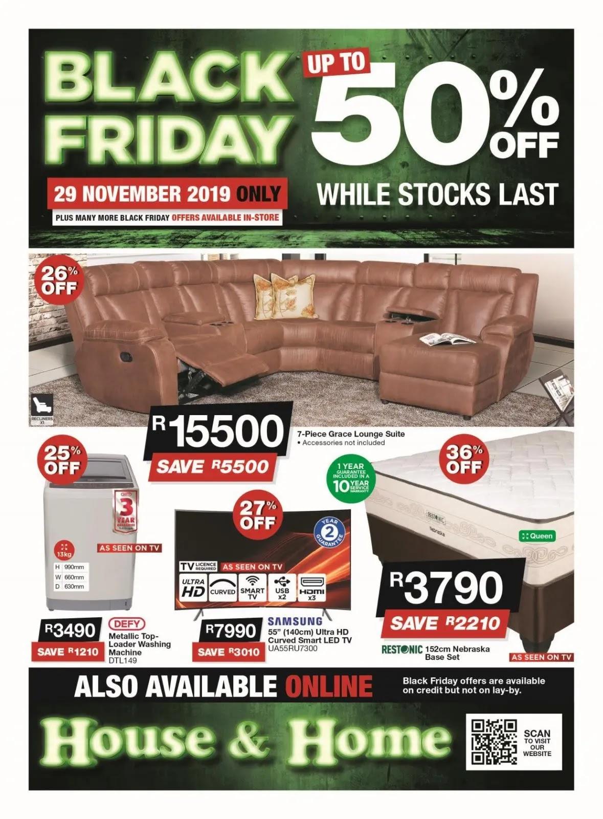 Ofertas de Black Friday de House & Home Página 1