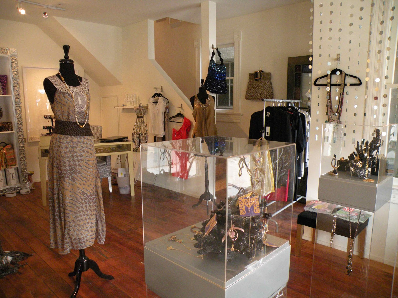 Clothing stores with home decor
