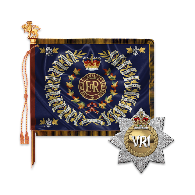 Military Insignia 3D : The Royal Canadian Regiment - The RCR
