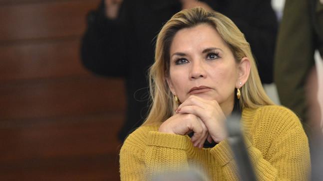 Presidenta Áñez: Recordaremos a Silvia Lazarte como una boliviana valiente y patriota