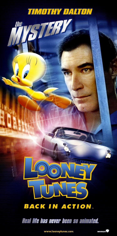 Looney Tunes Passent à L'action : looney, tunes, passent, l'action, Affiches, Photos, D'exploitation, Bandes, Annonces:, Looney, Tunes, Passent, L'action, (2002), Dante, Action, (12.08.2002, 2002)