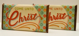ome Unto Christ Mutual Theme Candy Bar Wrapper