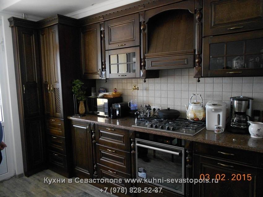 Деревянная кухня недорого Севастополь