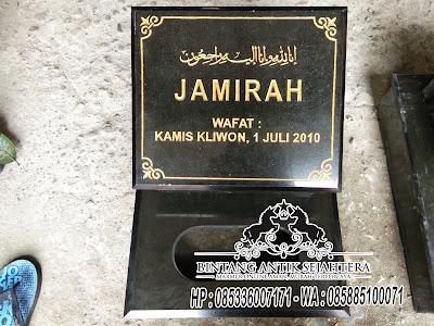 Batu Nisan Granit Hitam, Harga Batu Nisan di Jakarta, Nisan Makam Granit