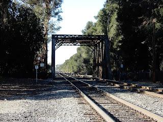 スタンフォードの線路