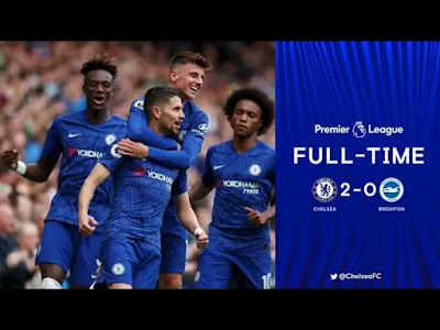 Chelsea vs Brighton 2-0 All Goals And Match Highlights [MP4 & HD VIDEO]